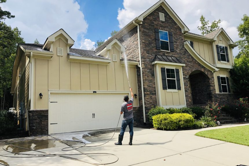 House washing in raleigh,nc