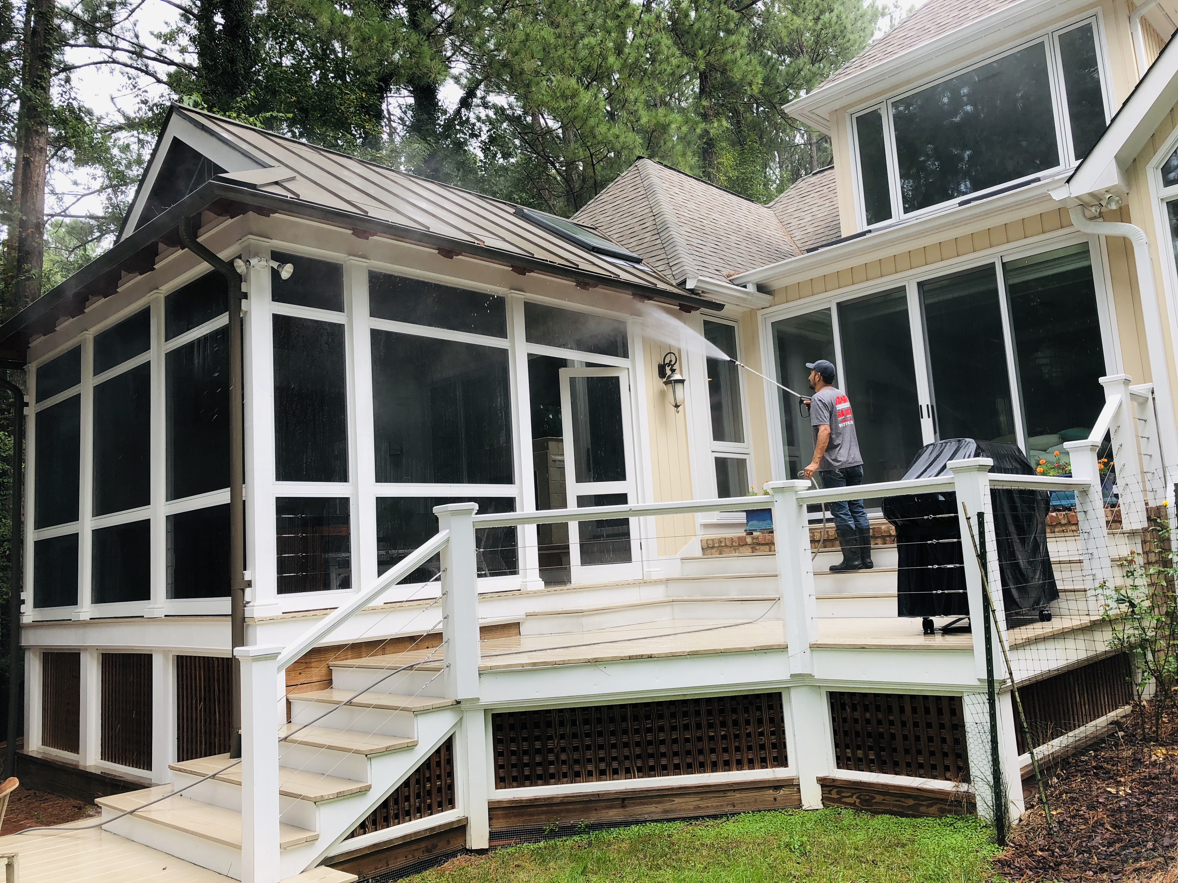 Deck Pressure Washing And Staining Pressure Washing